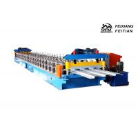 720 Model Floor Deck Roll Forming Machine 0.8 - 1.2mm Thickness For Roofing Manufactures