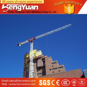 50m jib Telescopic Tower Crane offer tower crane hoist motor Manufactures