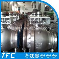 Factory price stainless steel A351 ball check valve CF8M 2pc ball valve Manufactures