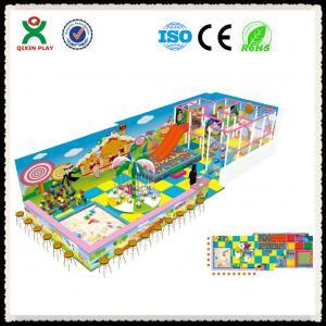 Indoor Kids Playground Kids indoor Playground for Sale QX-105A Manufactures