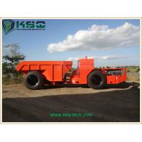 Hydropower Tunneling Low Profile Dump Truck For Medium Size Rock Excavation Manufactures