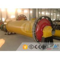 China 18.5kw Power Industrial Ball Mill 0.5 - 16t/H Capacity 2 Years Warranty on sale