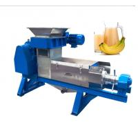 China Industrial Ginger Juice Extractor Vegetable Crusher 3 KW Power 1800 * 600 * 700 Mm on sale