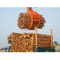 excavator hydraulic rotary log grapple for excavator Manufactures