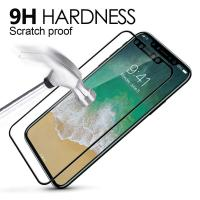 China 9H Hardness 3D Round Edge Screen Protector Full Coverage Tempered Glass Film For Apple iphone 8 on sale