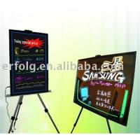 China Neon effect led writing board on sale