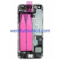 Original iphone 5S Middle Frame Back Cover Housing with flex cable full assembly Manufactures