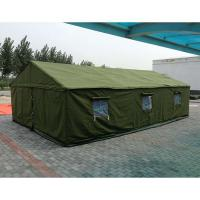 Buy cheap Anti - Water Polyster Canvas Camping Tent  , Canvas Military Tent For 10 Persons from wholesalers