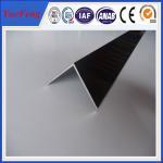 6063 T5 aluminum angle profile / OEM aluminum angles / per ton of aluminum manufacturer Manufactures