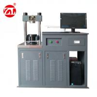 Full - Automatic Resist Bending Compression Testing Machine 300kN / 10kN Manufactures