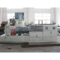 China Watering Cutter PP PE Plastic Recycling Granulator Machine Pelletizer Siemens Motor on sale