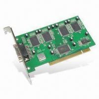 PCI DVR Video Card with Multiple Area Motion Detect, Supports Plug-and-play Function Manufactures