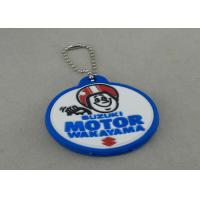 Promotional PVC Keychain , Colorful PVC Badge For Bag Zipper Manufactures