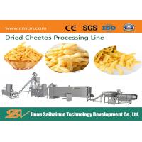 Cheetos Kurkure Making Machine / 65kw Kurkure Extruder Machine Manufactures