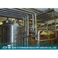 Quality ASME SB338 GR2 Titanium Heat Exchanger Tube for chemial and Oil industry for sale