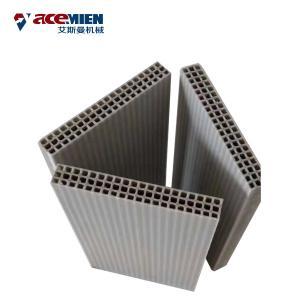 Concrete Wall Extrusion Machine , Hollow Plastic Concrete Formwork Machine Manufactures