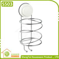 Modern Free Installed Wall Mounted Plastic Hair Dryer Holder Manufactures