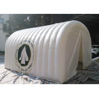 White Advertising Inflatable Tent , UV Resistant Inflatable Shelter Tent Manufactures