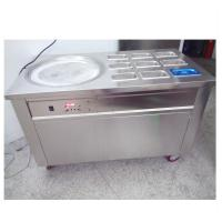 Easy Operation Thailand Ice Cream Rolls Machine For Restaurant / Coffee Shop Manufactures