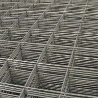China Temporary Fence Galvanized Welded Wire Mesh Fence Panel Reinforcing Mesh on sale