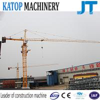 Factory supply 8t load TC5613 construction building tower crane with CE Manufactures