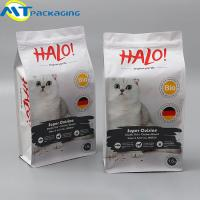 Aluminium Foil Resealable Food Pouches , Beautiful Pattern Dog Food Bag Manufactures