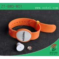 RFID Dual-band Soft PVC wristband tag (anti-demolition) Manufactures