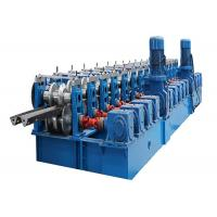 2 Wave Guardrail Plate Forming Machine 3 - 12 M Every Min Cold Bending Manufactures