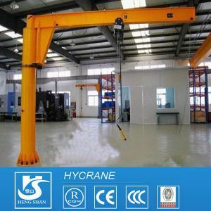 Fixed Column 1ton 3ton 5ton 10ton Pillar Mounted Free Standing Jib Crane Portable Jib Crane Manufactures