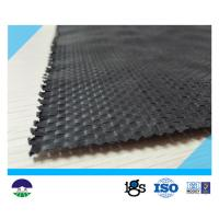 China UV Resistant Black Geotextile Woven Fabric For Reinforcement Fabric 460G on sale