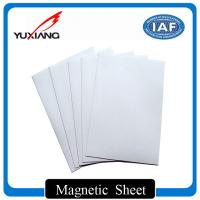 China Strong Flexible Magnetic Sheet Rolls 0.3mm - 10mm Thickness For Bookmarks on sale
