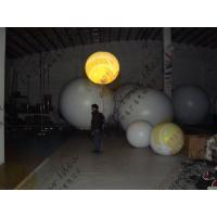 PVC Colorful Inflatable Balloon , Fireproof 0.18mm Thickness Advertising Balloon Manufactures