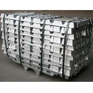 Cas 7440-66-6 Zinc Ingot / Powder 420ºC Melting Point For Anti Corrosive Area Manufactures