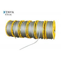 Galvanized Steel Anti Twist Braid Rope for Transmission Line Stringing Manufactures