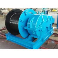 Single drum slow speed wire rope electric winch manufacturer in China Manufactures