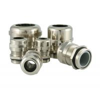 PG Type Waterproof Metal Cable Glands With Strain Relief M12 M16 M32 M63 Manufactures