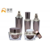 China Luxury Lotion Bottle Acrylic Cosmetic Packaging Set Empty Container SR2255 on sale