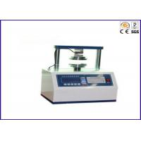 2000N Package Testing Equipment Edge Crush Test Machine For Paperboard Strength Manufactures