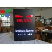 Custom Made LED Illuminated Sign Box , Outdoor Decoration LED Slim Panel Light Box Manufactures