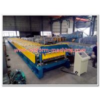 1500mm Width Galvanized Steel Foor Deck Sheet Cold Roll Forming Machine for Cutomized Decking Profile Design Manufactures
