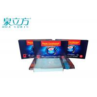 Economical / Practical Super Condensed Laundry Detergent Sheets With Lasting Fresh Fragrant Manufactures