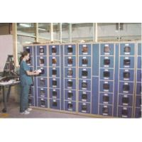 Factory Intelligent Locker Systems 6 Tier Steel Body Transparent Door Anti UV Aging Manufactures