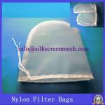 160 micron food grade drawstrings nutmilk mesh bag/nutmilk filter bag/ nutmilk nylon bag Manufactures