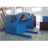 10 Ton Tilting Turning Table , Rotary Welding Table With 120 Degree Rotated Manufactures