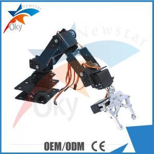 China 6DOF Clamp Claw Mount Arduino DOF Robot Aluminium Rotating Mechanical Robotic Arm on sale