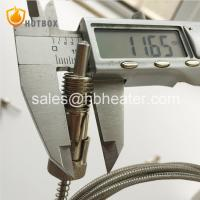 K E J T Type Thermocouple PT100 With M12 Thread Adaptor  Stainless Steel High Temperature  for Plastic extruder Manufactures