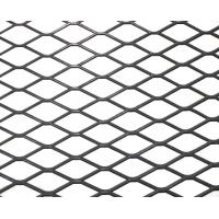 China Small Hole Thick Expanded Metal Mesh For Rendering , 25-500mm Wire Diameter on sale