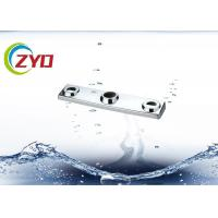 Wall Mounted Faucet Accessories Three Hole Bathroom Shower Faucet Cover Manufactures