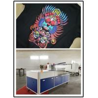 Commercial T Shirt Printing Machine A3 Size With 8 Pcs Ricoh Print Heads Manufactures