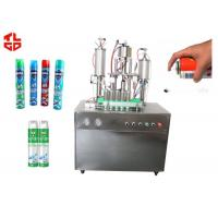 Auto Aerosol Cans Filling Machines For Pesticide Insecticide, Aerosol Spray Filling Machines Manufactures